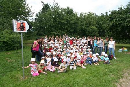 120 enfants et 19 accompagnateurs !