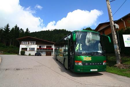 Le bus est arrivé ...