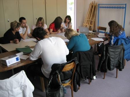 Réunion de préparation de cette session autour su projet pédagogique