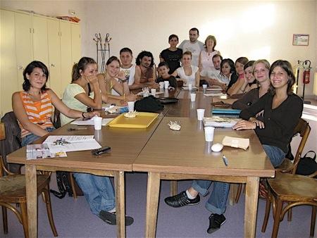 L'équipe d'encadrement de l'Accueil de Loisirs de Juillet 2007, première semaine