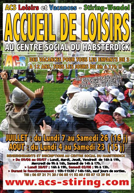 Le programme d'activité sera distribué dès ce Lundi dans toutes les écoles de Stiring-Wendel, Forbach et environs