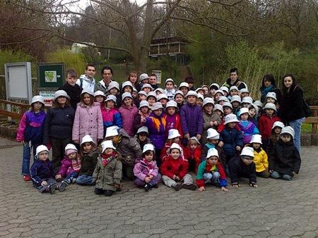 Les enfants de l'accueil de loisir au Zoo ...
