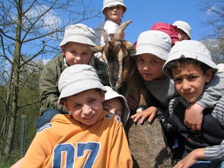 La visite du Zoo de Sarrebruck...