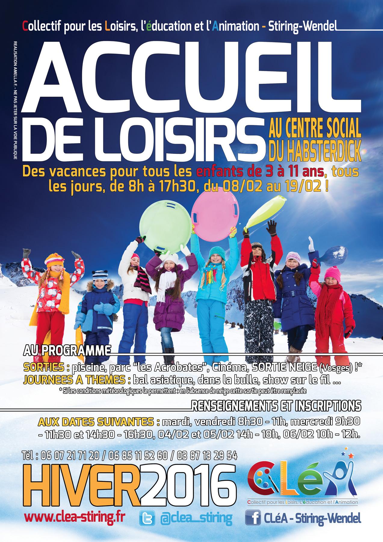 Projet p dagogique accueil de loisirs hiver 2016 cl a collectif pour les loisirs l - Jour de l hiver 2016 ...